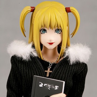 RAH Death Note Misa Amane Pre-owned