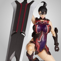 Revoltech Queen's Blade Weapons Shop Cattleya Pre-owned