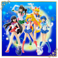 Sailor Moon HGIF Collection - A Set of 7 Figures