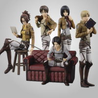 Ichibankuji Attack on Titan March to Freedom Full Set of 5