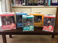 Complete Alter's 1/8 K-ON Figures Pre-owned
