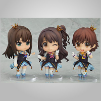 Nendoroid Co-de: Idol Masters Rin, Utsuki, Mio Pre-owned