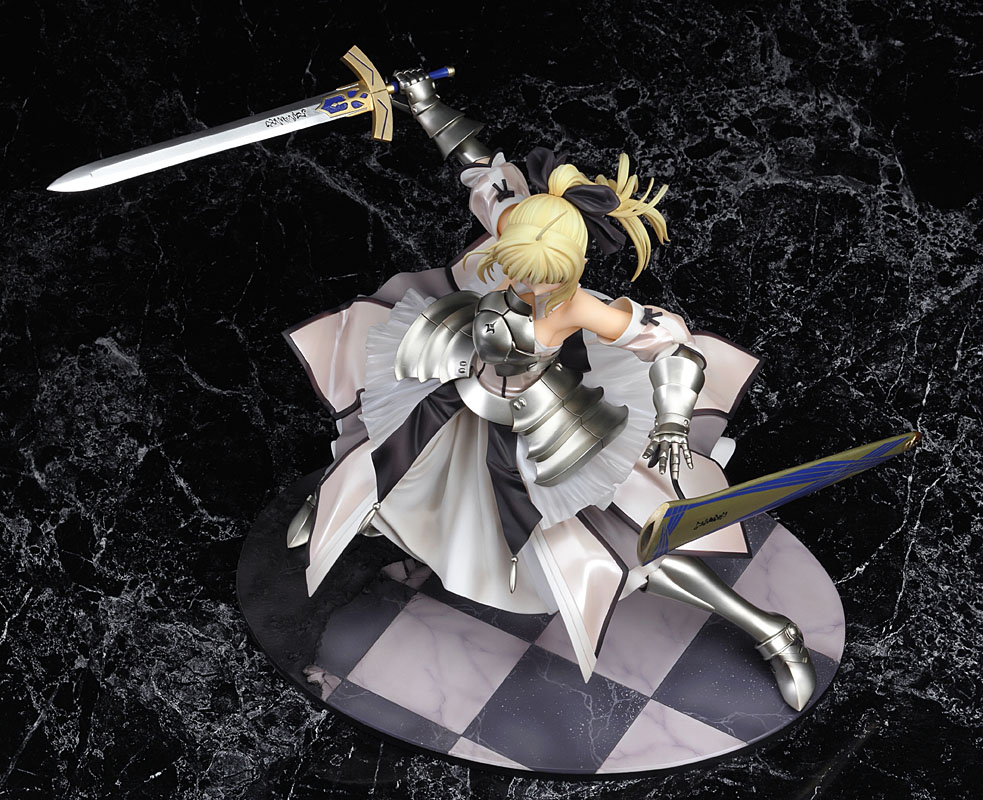 Saber Lily Distant Avalon 1/7 A/B - Click Image to Close