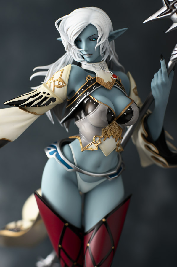 Lineage 2: Dark Elf 1/7 Max Factory A/A - Click Image to Close