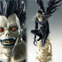 Death Note Ryuuk Craft Label A/B